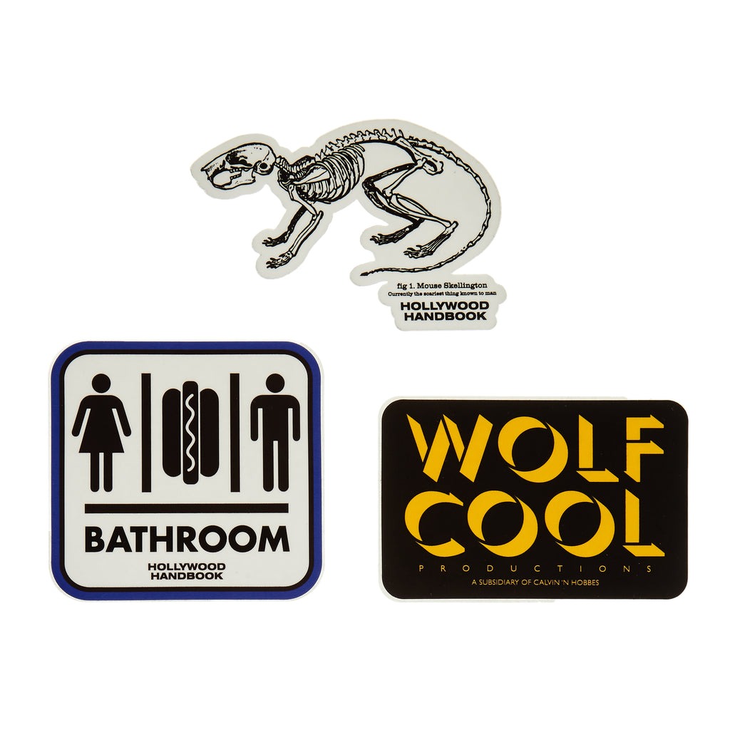 Hollywood Handbook Decal Set