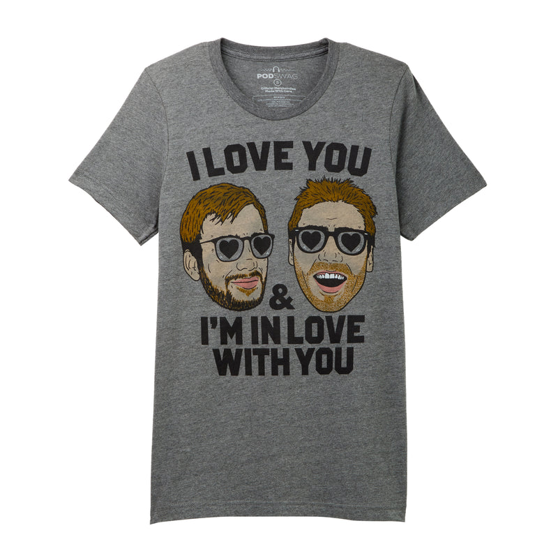 Hollywood Handbook -I Love You T-shirt
