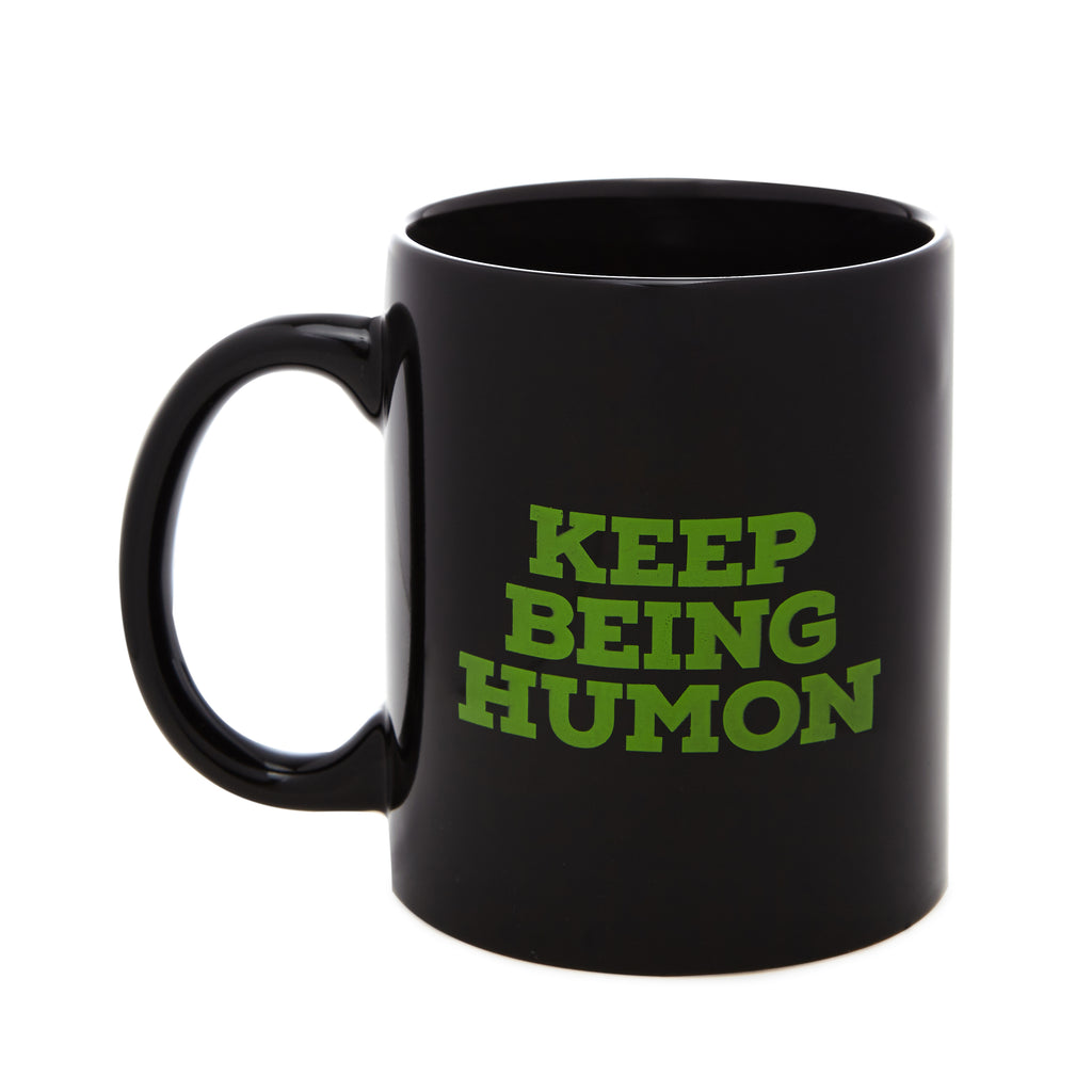 improv4humans: Keep Being Humon Mug
