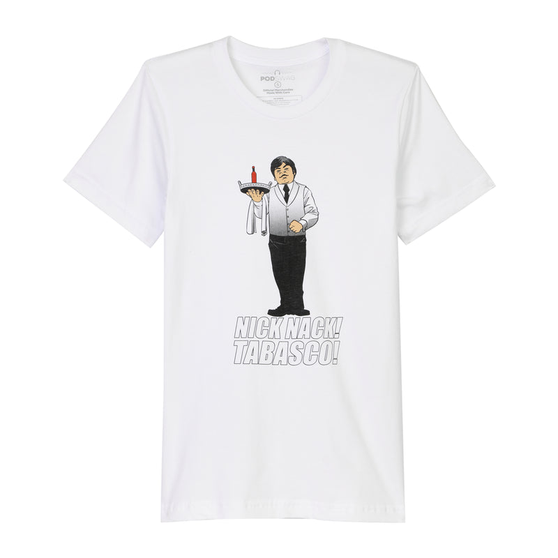 James Bonding: Nick Nack Tabasco T-shirt