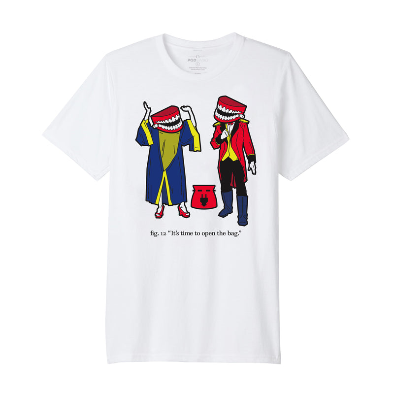 Comedy Bang Bang: Plug Bag T-shirt