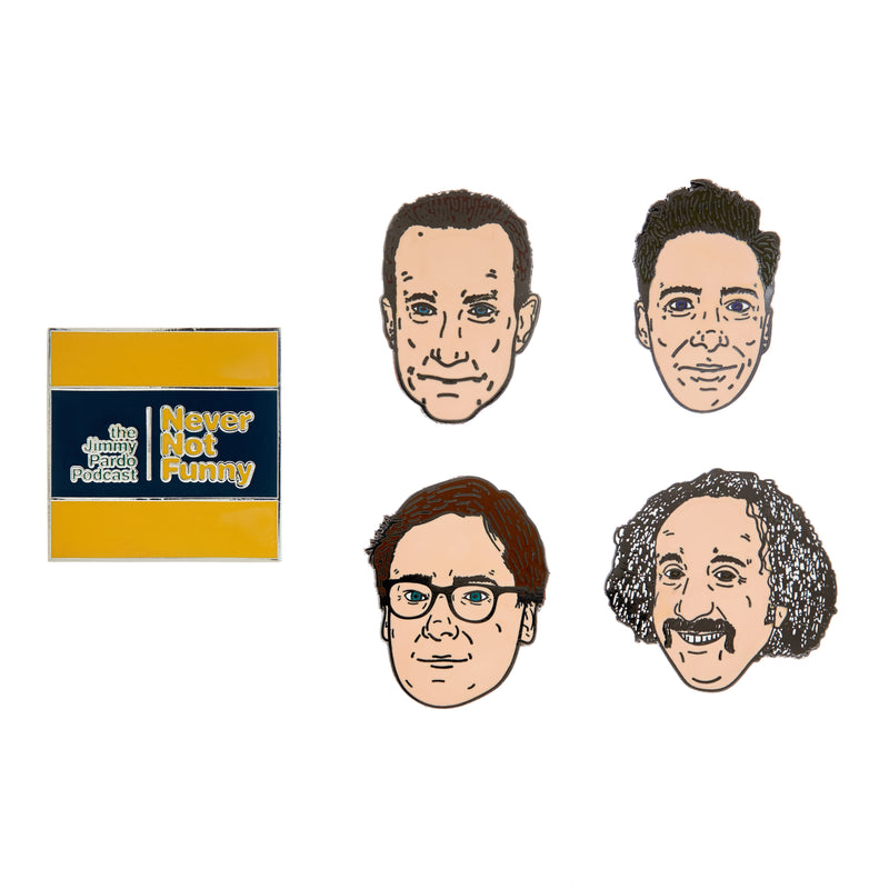Never Not Funny: Enamel Pin Set