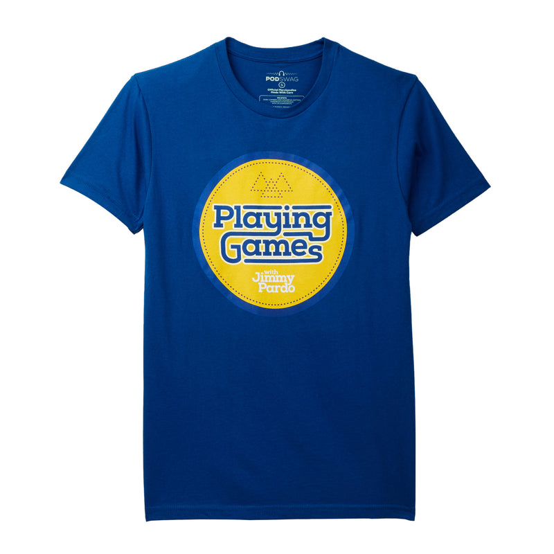 Playing Games With Jimmy Pardo: Logo T-shirt