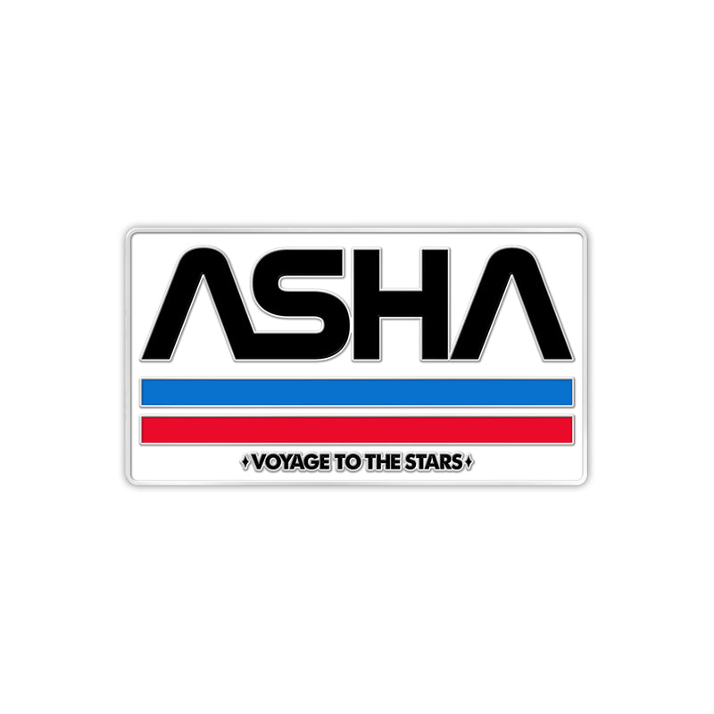 Voyage To The Stars: ASHA Custodial Staff Enamel Pin