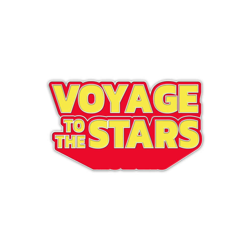 Voyage To The Stars: Logo Enamel Pin