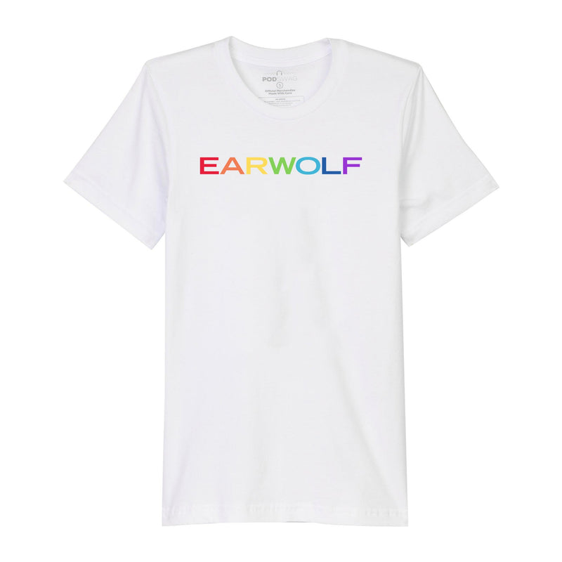 Earwolf Pride T-shirt: White