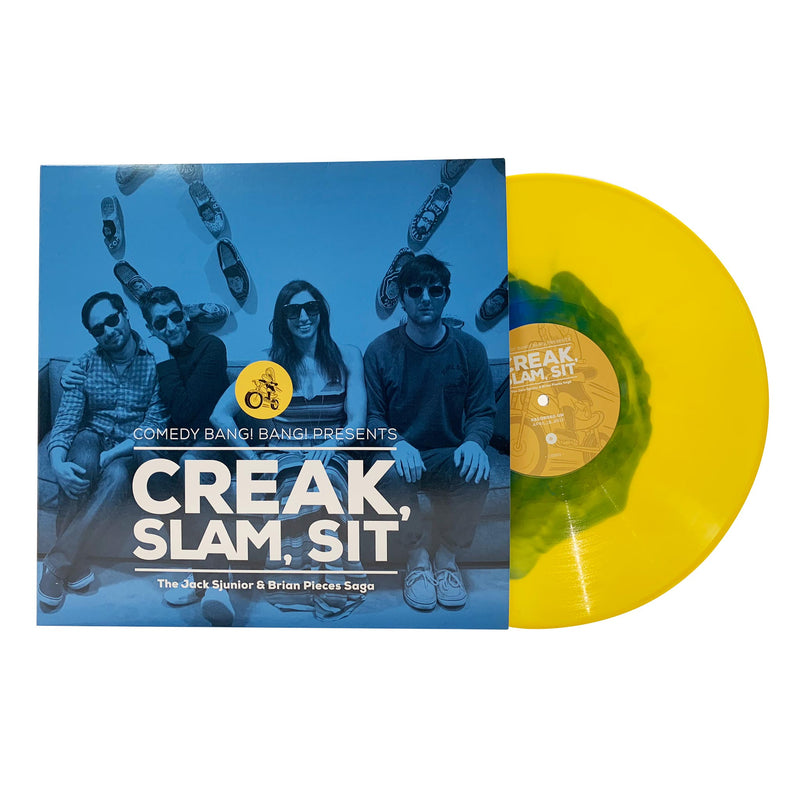 Comedy Bang Bang Presents || Creak, Slam, Sit: The Jack Sjunior & Brian Pieces Saga Vinyl Album