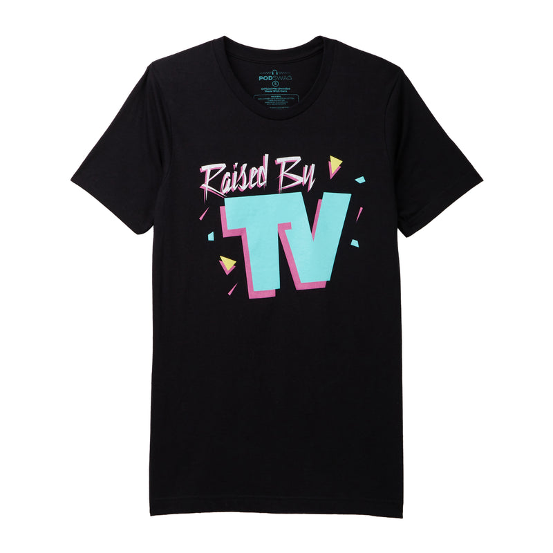 Raised By TV: T-shirt