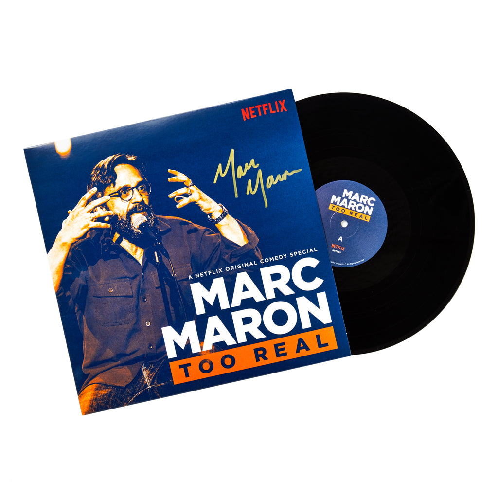 SIGNED Marc Maron: Too Real Vinyl Album
