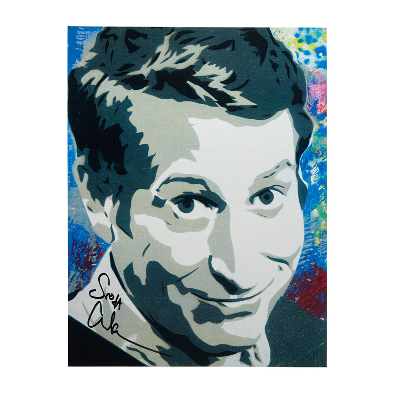 SIGNED Scott Aukerman Print