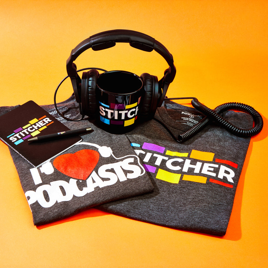Stitcher: I Love Podcasts T-shirt
