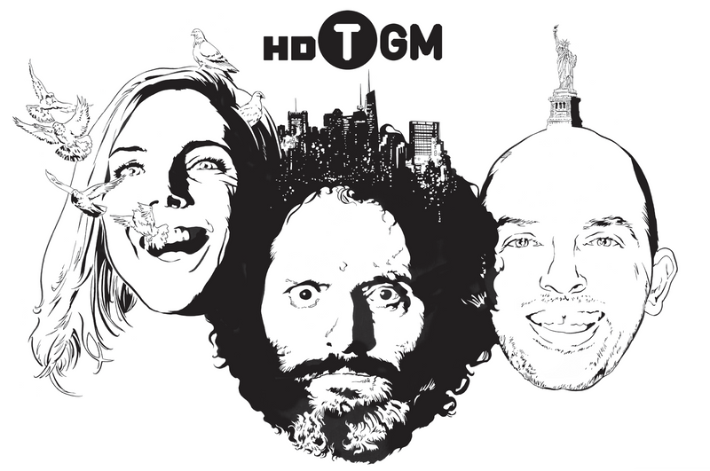 HDTGM-Poster by Brandon Bird