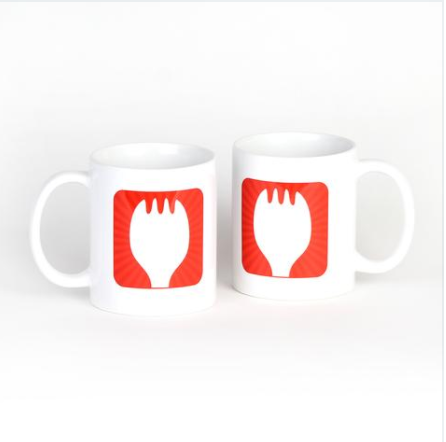 Sporkful Mug-Set of Two