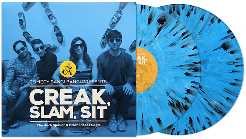 Comedy Bang Bang Presents || Creak, Slam, Sit: The Jack Sjunior & Brian Pieces Saga Vinyl Album (2nd Pressing)