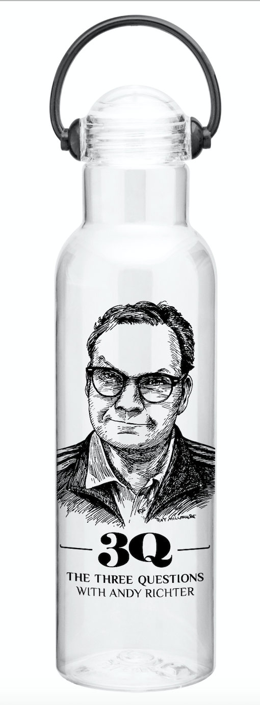 The Three Questions with Andy Richter: Headphones Bottle