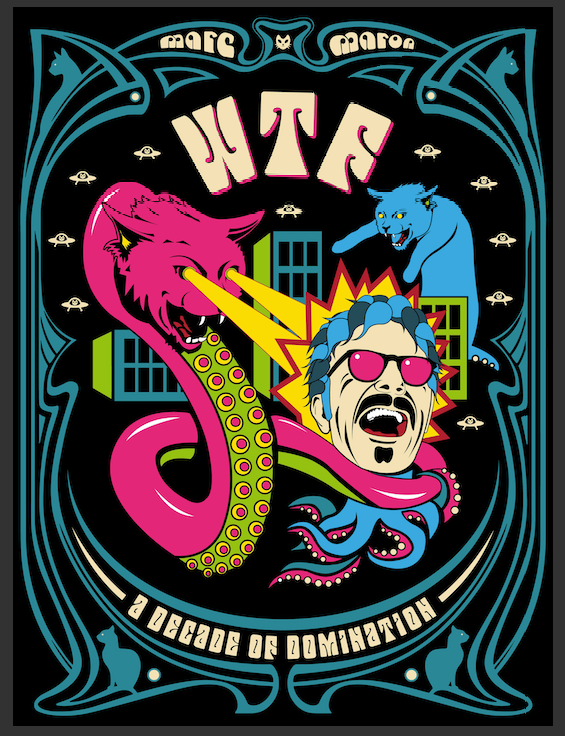 SIGNED WTF: Decade Of Domination Poster