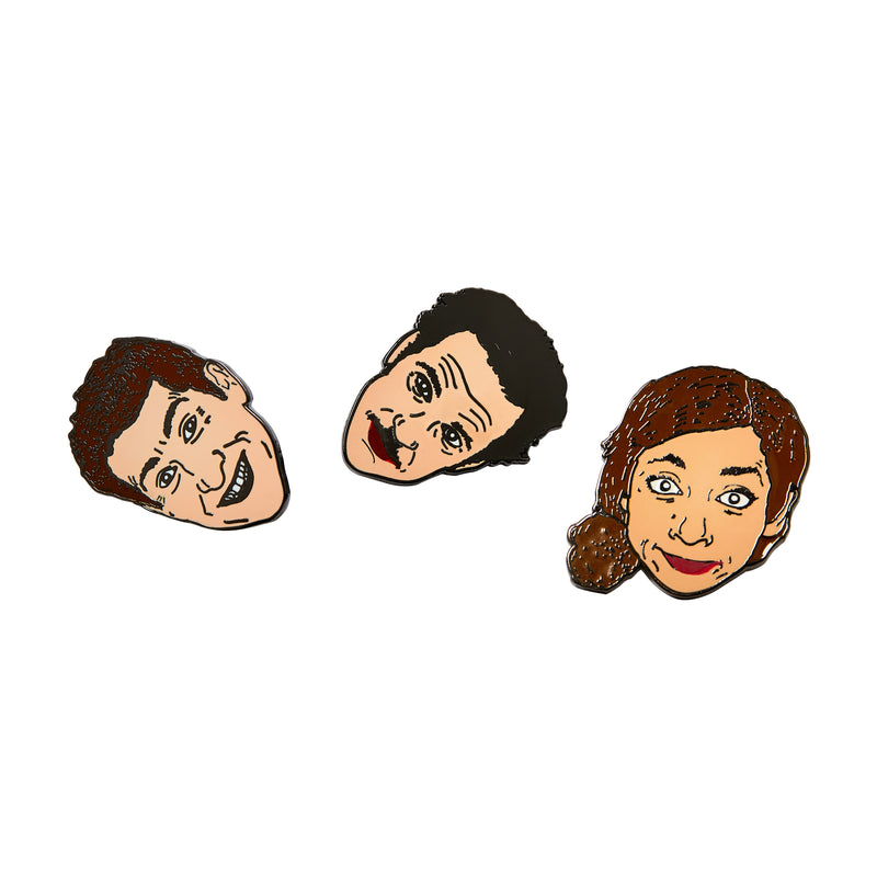 Threedom Enamel Pin Bundle