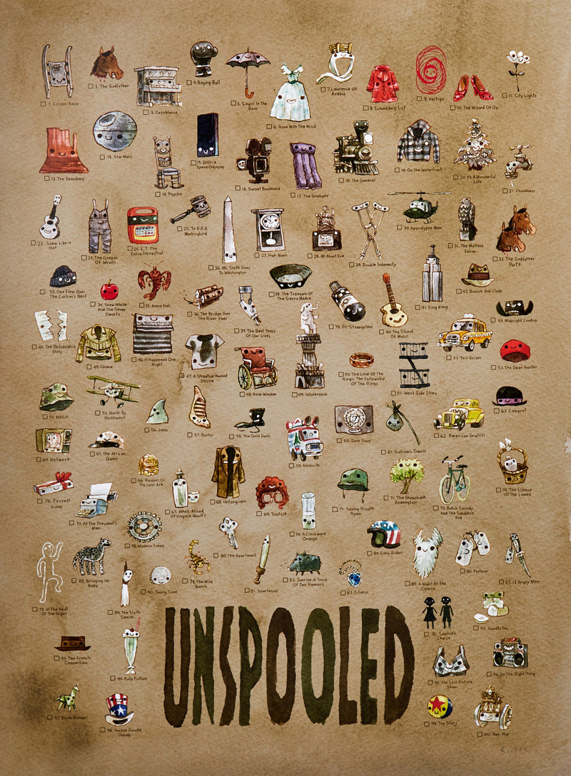Unspooled: Top 100 Poster
