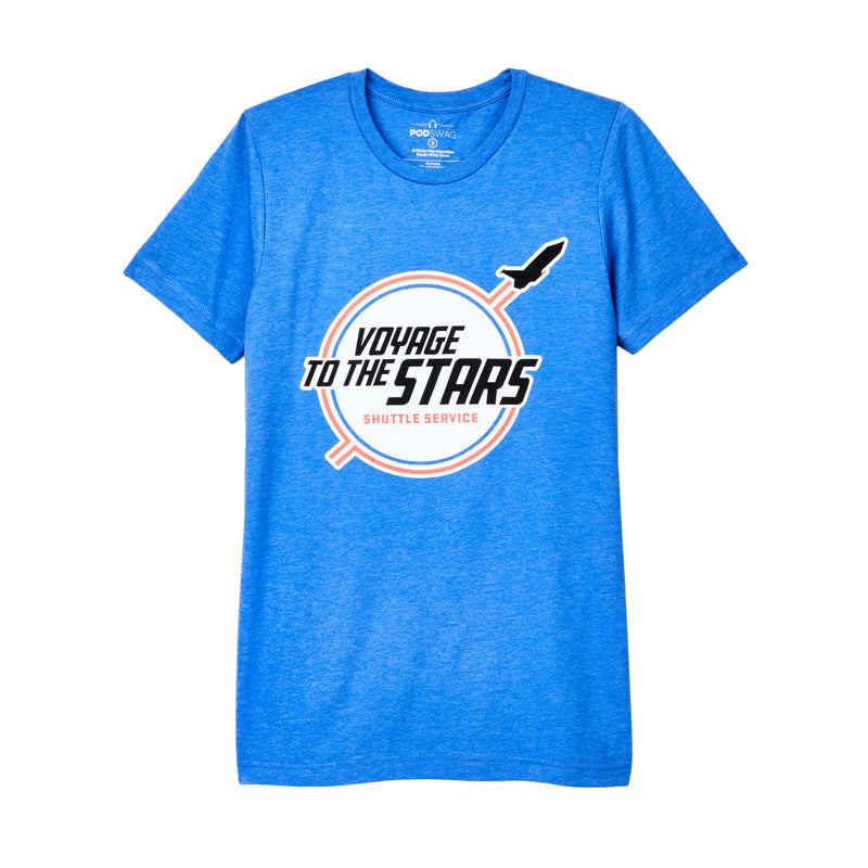 Voyage To The Stars: Shuttle Service T-shirt
