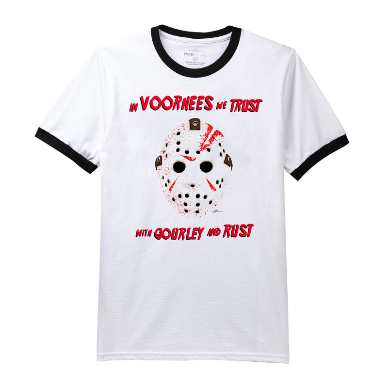 In Voorhees We Trust Ringer T-shirt