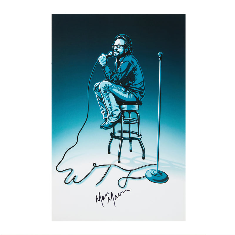 WTF: SIGNED Stool Poster