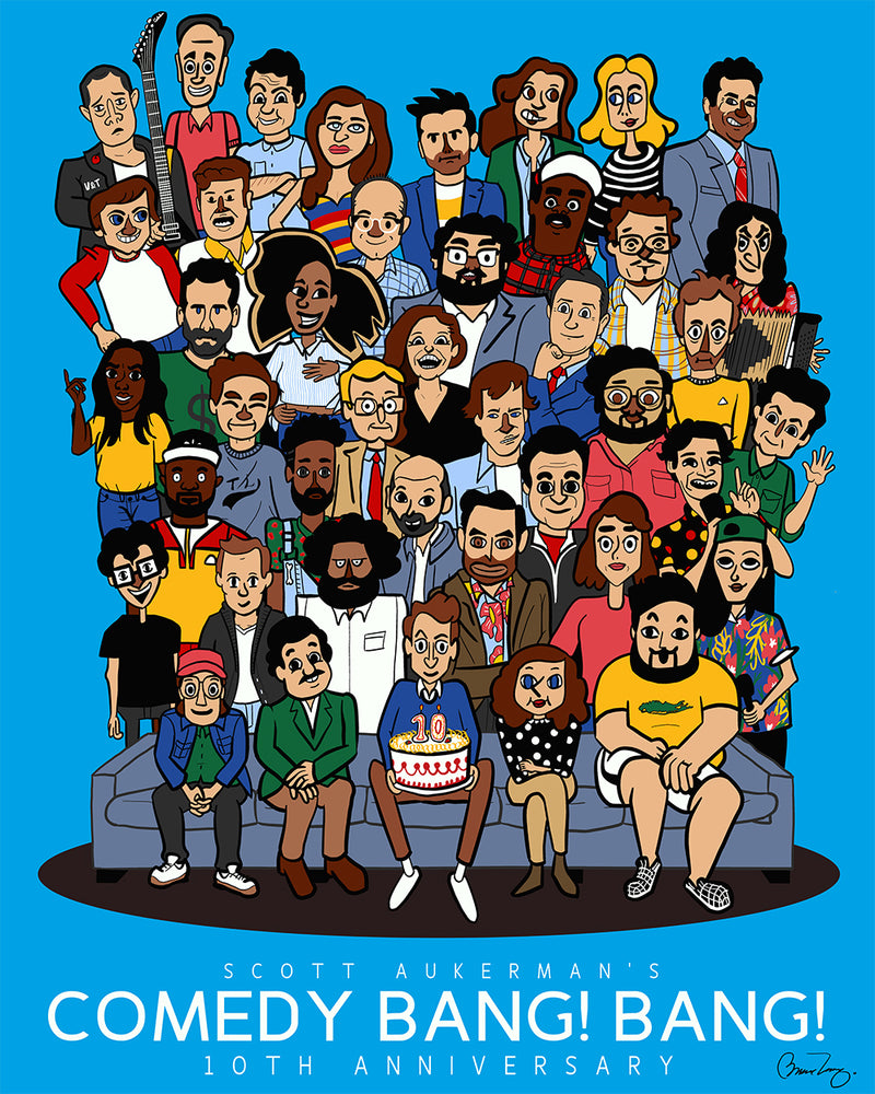 Comedy Bang Bang: 10th Anniversary Poster