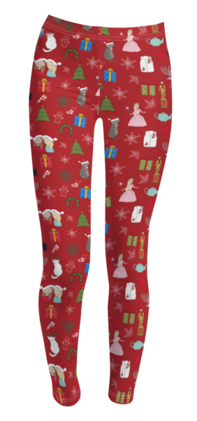 Office Ladies: Kids Holiday Leggings