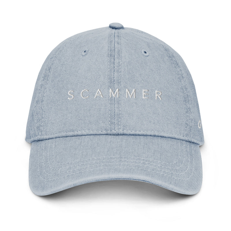 Scam Goddess: Scammer Denim Hat