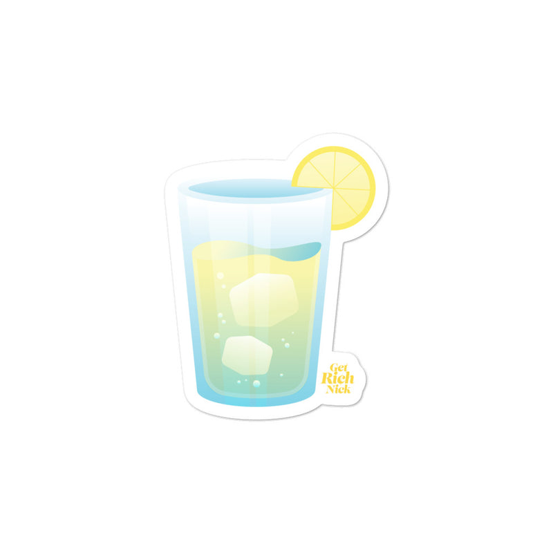 Get Rich Nick: Lemonade Stand Sticker