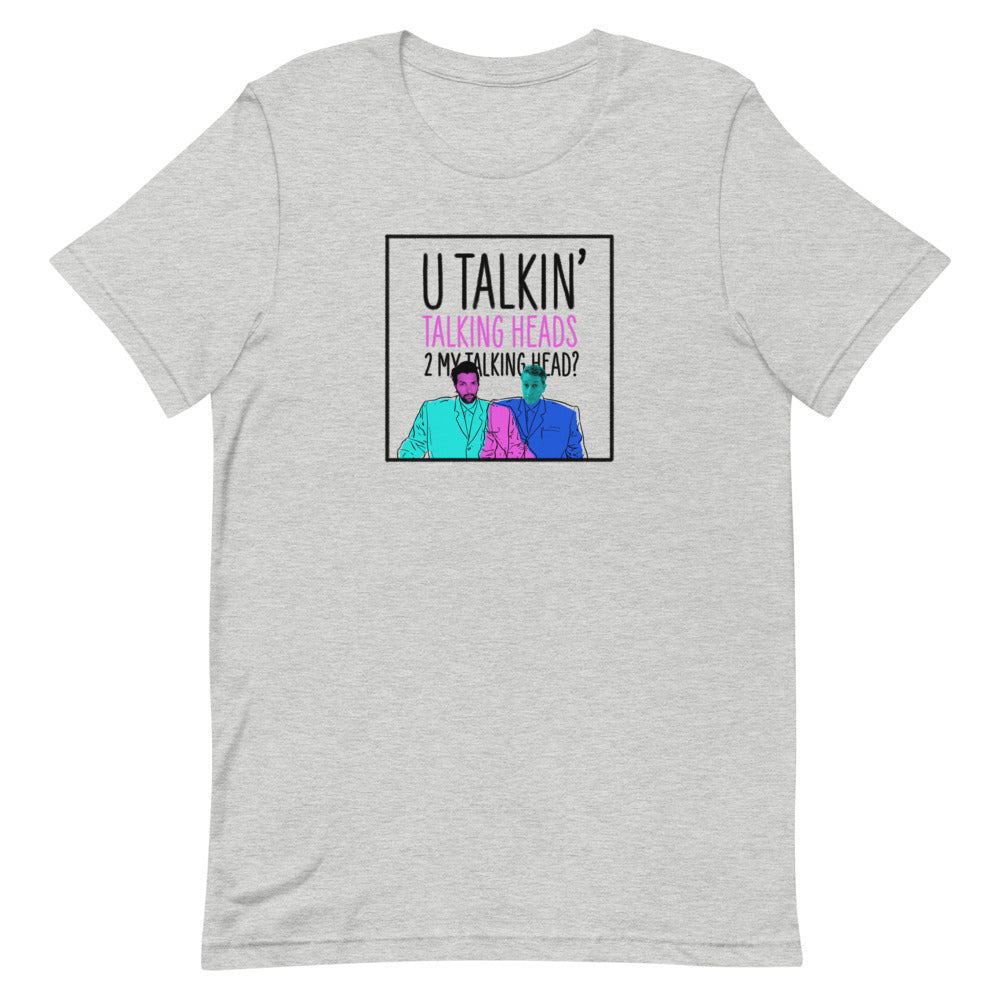 U Talkin' Talking Heads: Big Suits T-shirt