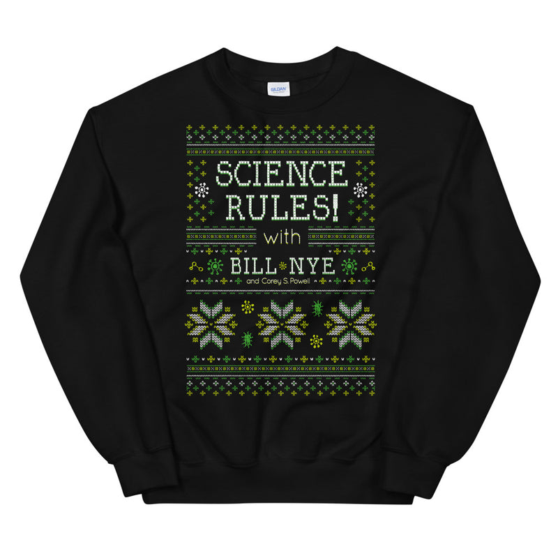 Science Rules: Holiday Sweatshirt