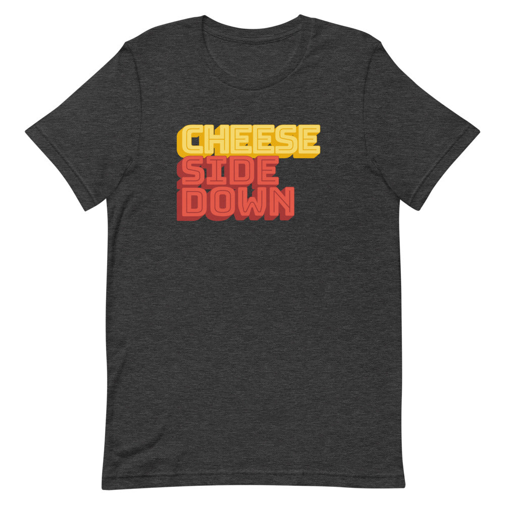 The Sporkful: Cheese Side Down T-shirt