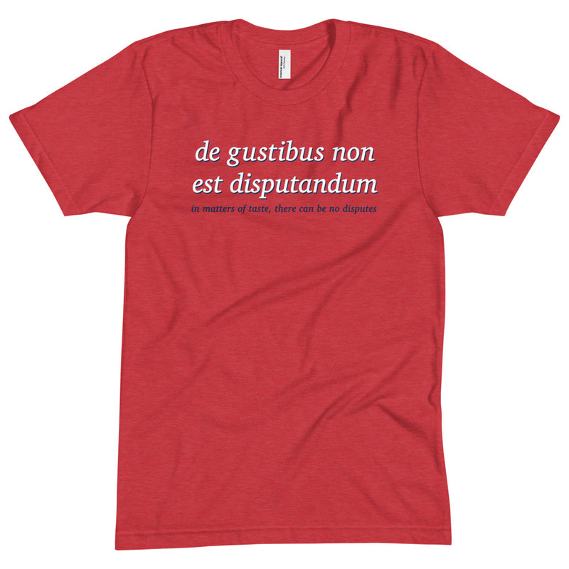 The Sporkful: Latin Maxim T-shirt
