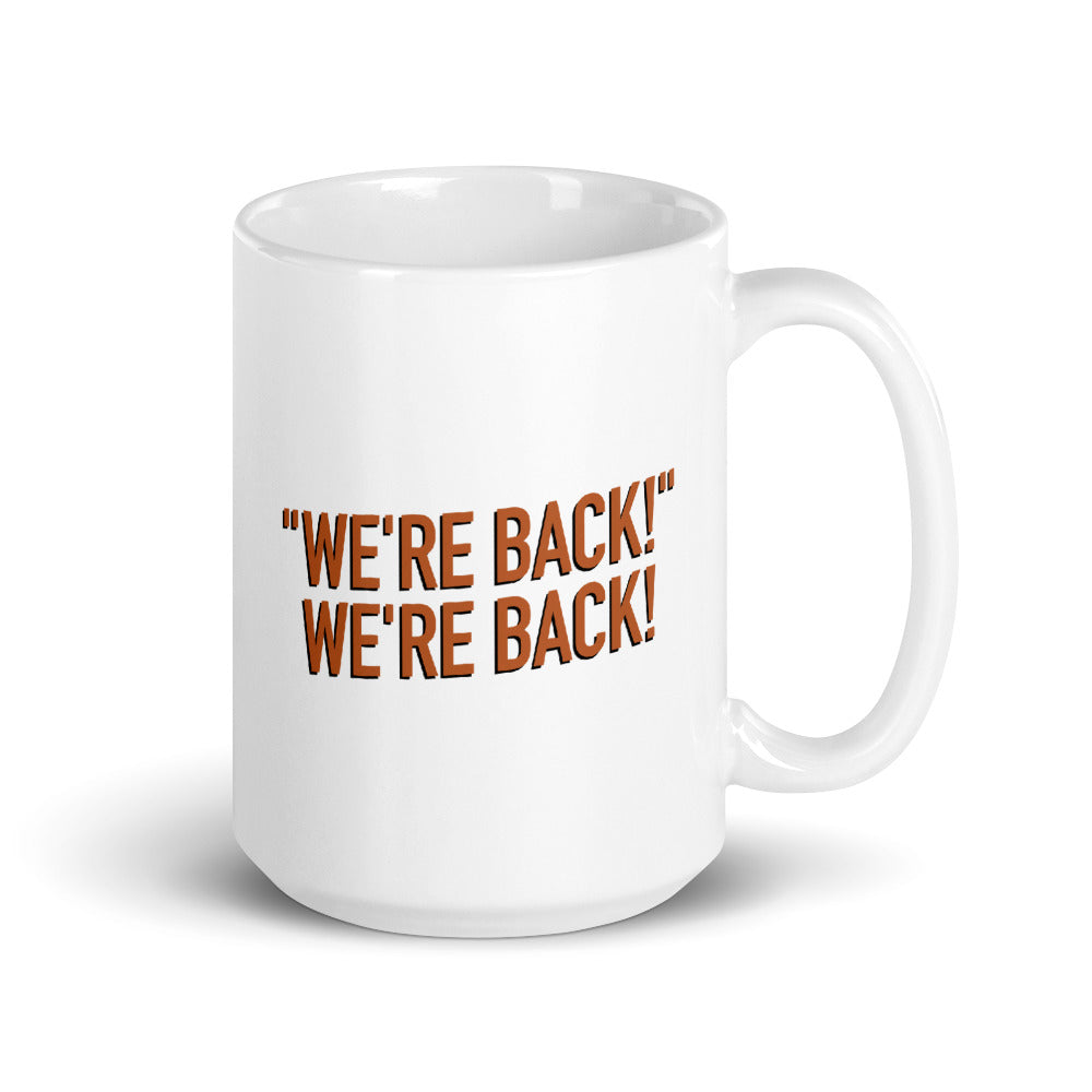 The Distraction: We're Back Mug