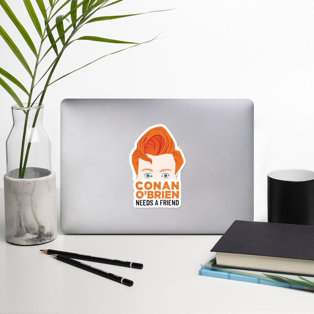 Conan O'Brien Needs A Friend: Sticker