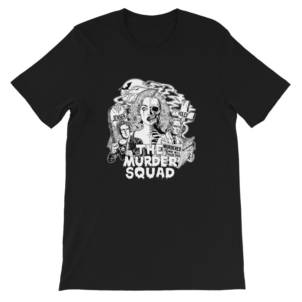 Jensen & Holes: The Murder Squad Illustration T-shirt