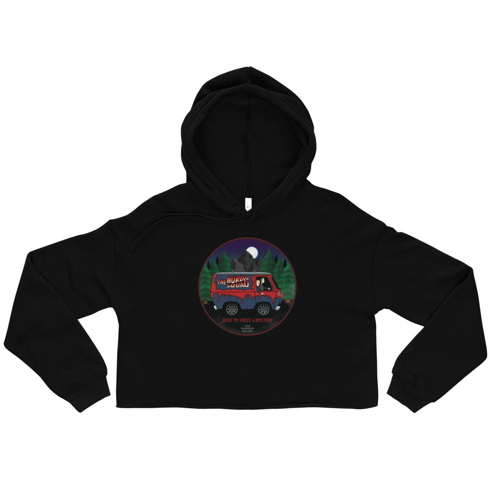Jensen & Holes: The Murder Squad Mystery Crop Hoodie