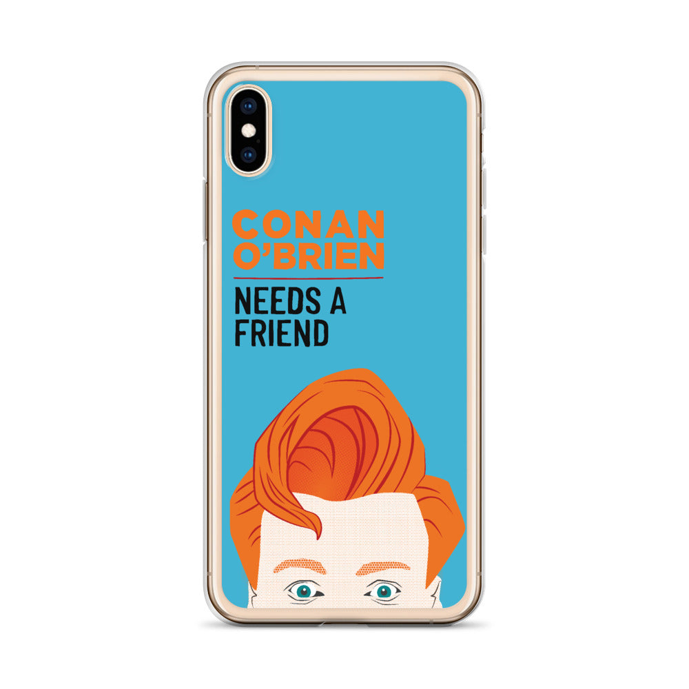 Conan O'Brien Needs A Friend: iPhone Case