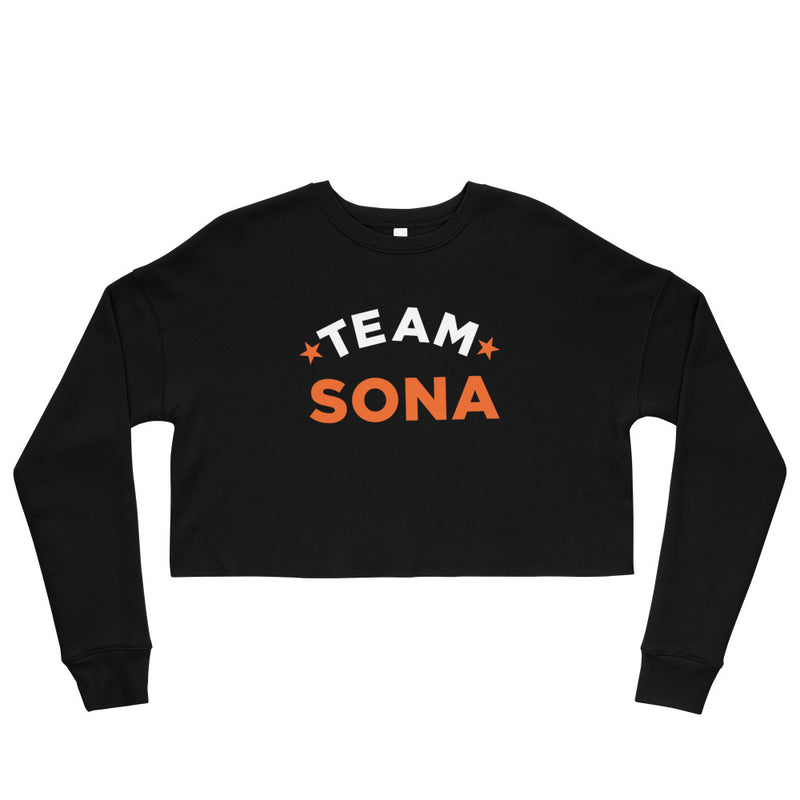 Conan O'Brien Needs A Friend: Team Sona Crop Sweatshirt