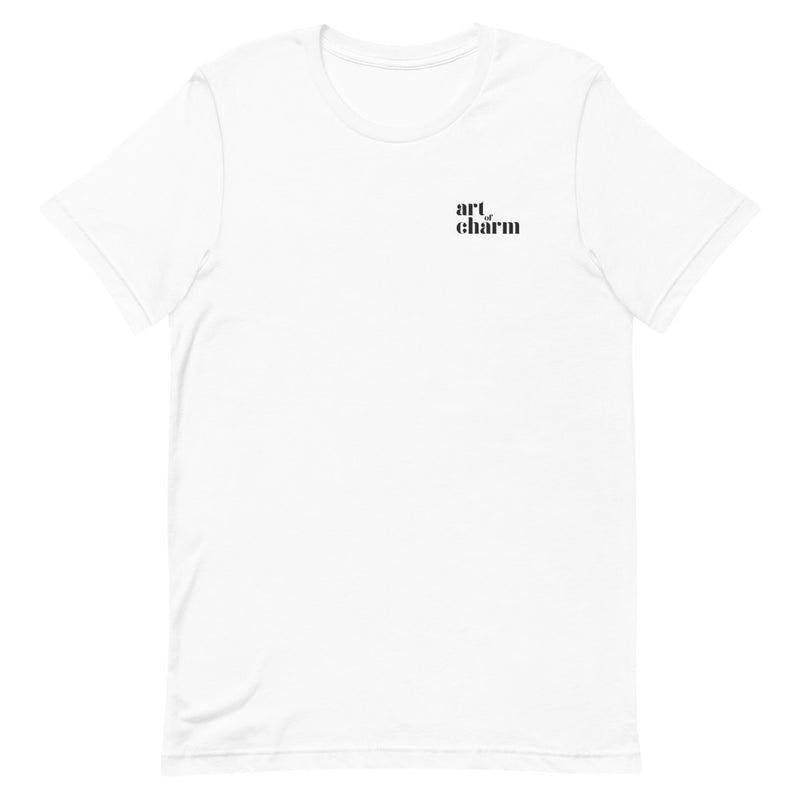 The Art of Charm: Little Logo T-shirt