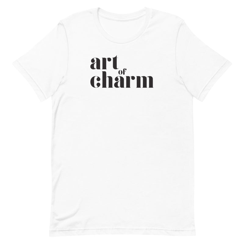 The Art of Charm: Logo T-shirt