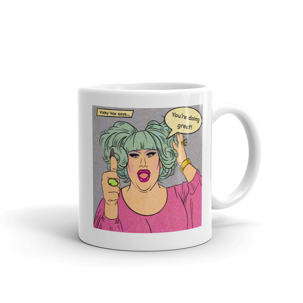 Doing Great With Vicky Vox: Mug