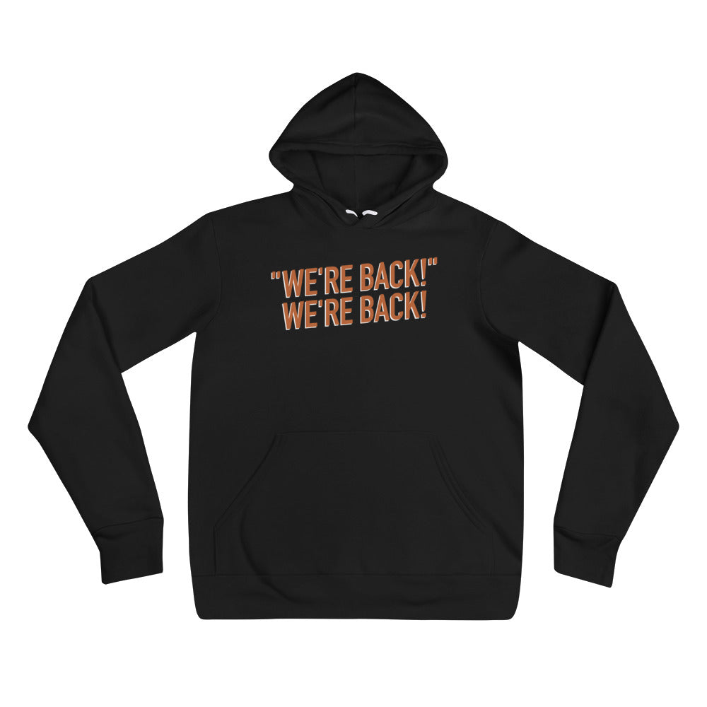 The Distraction: We're Back Hoodie