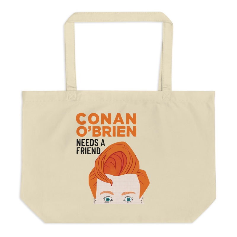 Conan O'Brien Needs A Friend: Large Tote