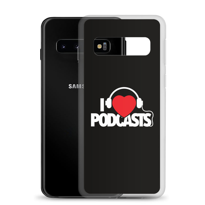 I Love Podcasts Samsung Case