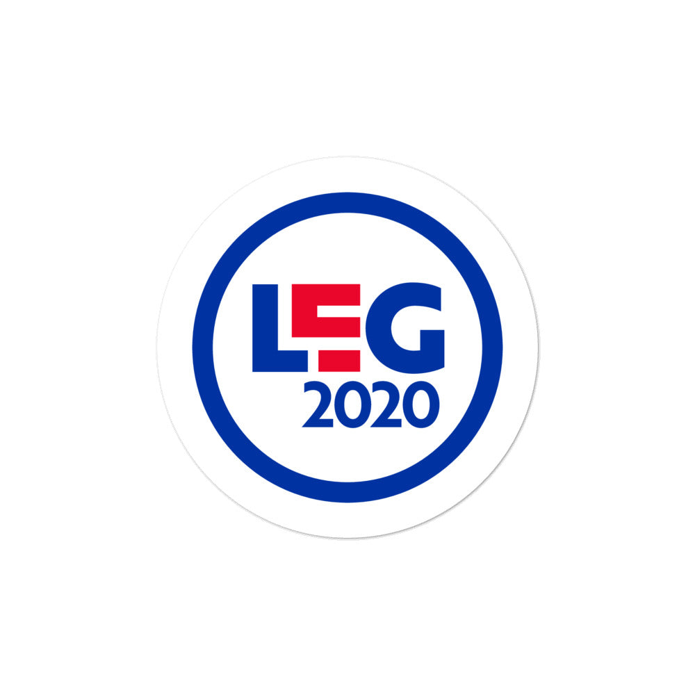 Scam Goddess: LEG2020 Sticker