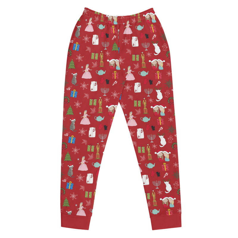 Office Ladies: Womens Holiday Lounge Pants