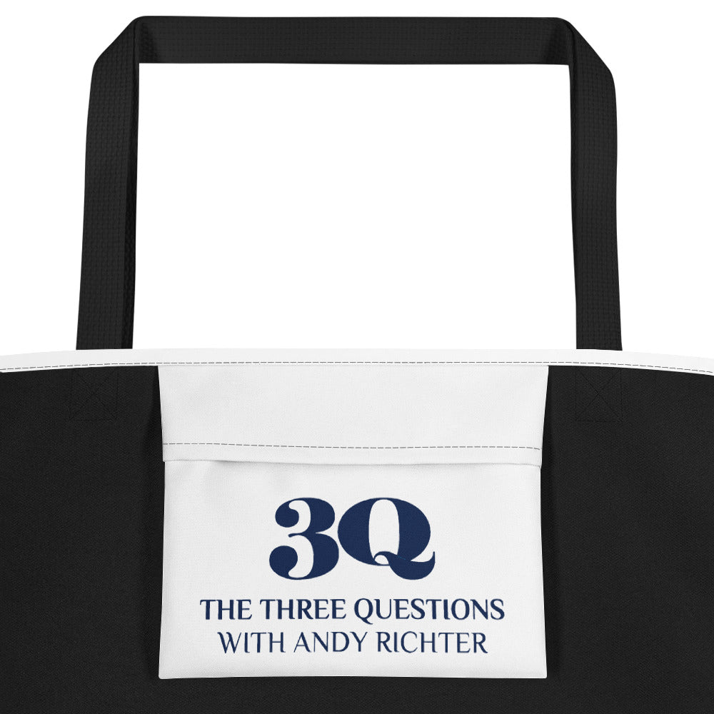 The Three Questions with Andy Richter: Beach Bag