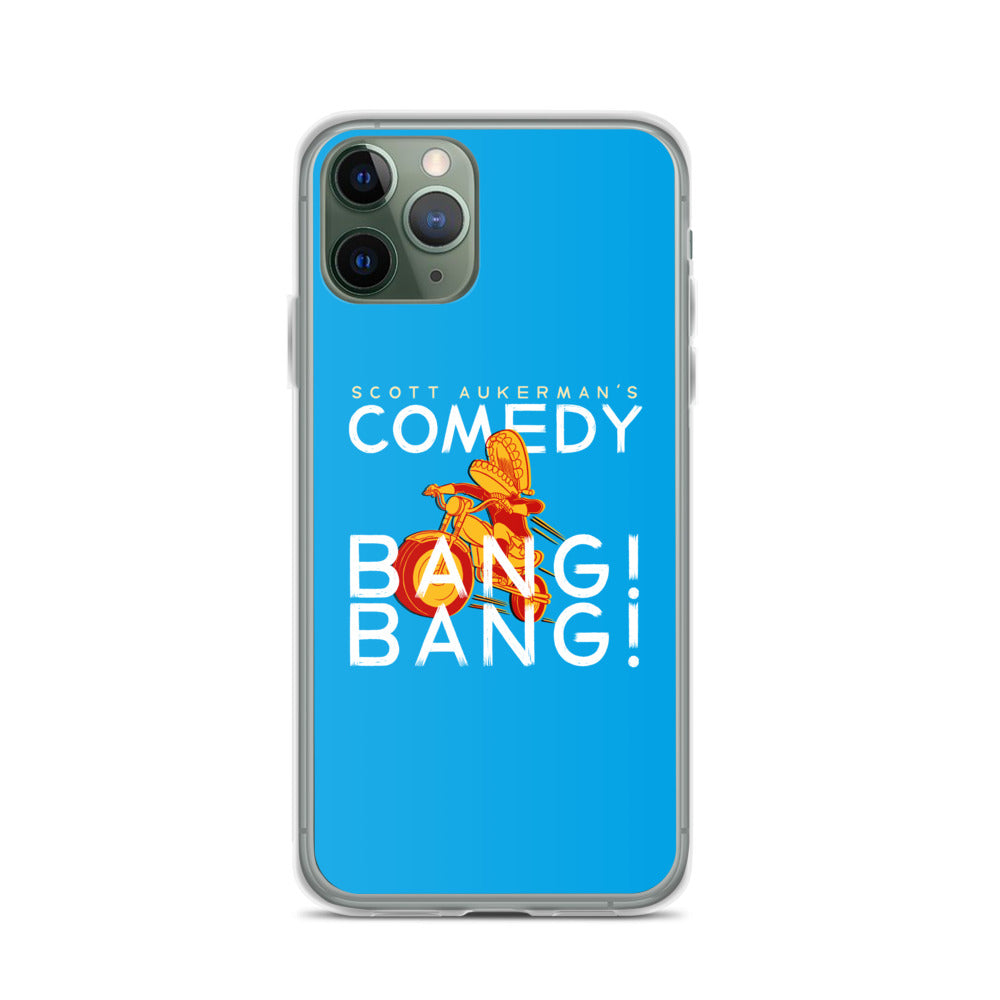 Comedy Bang Bang: Motormouth iPhone Case