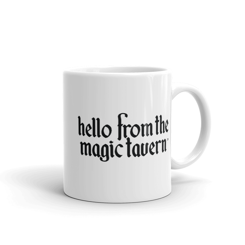 Hello From The Magic Tavern: Illustrated Mug